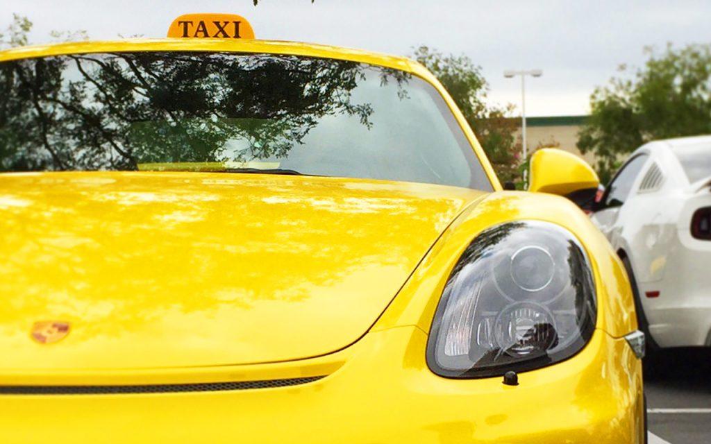 Первые шаги работы в такси